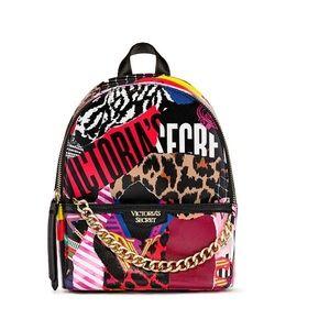 NEW mini city backpack bag VS mixed print